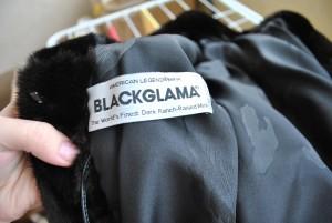 blackglama бирка