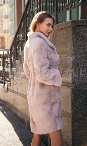 норковая шуба бежевого цвета в Киеве