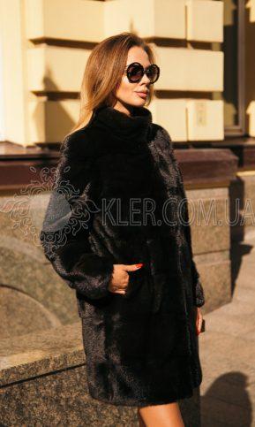 норковая шуба без капюшона купить в Киеве