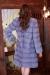 голубая норковая шуба