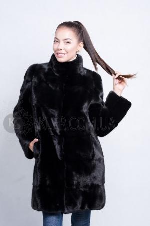 купить норковую шубу из канадской норки black nafa