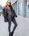 джинсовая парка с мехом песца украина цена фото купить