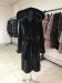 blackglama с капюшоном длинная халат