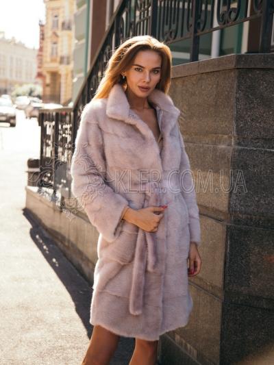 Купить светлую норковую шубу в Киеве